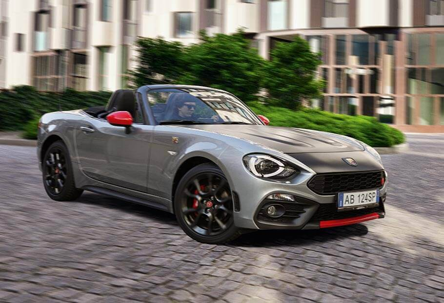 abarth 124 spider turismo roadster sportif abarth. Black Bedroom Furniture Sets. Home Design Ideas