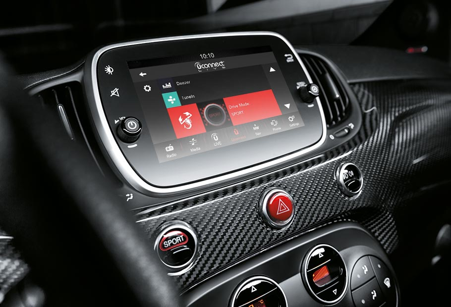 nouvelle abarth 695 xsr yamaha s rie sp ciale abarth. Black Bedroom Furniture Sets. Home Design Ideas
