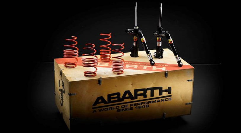 Kit Abarth Suspensions Koni