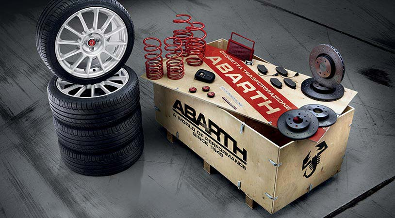 kit performance abarth kit de transformation abarth. Black Bedroom Furniture Sets. Home Design Ideas